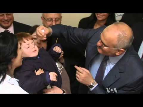 Egypt Fights Back Against Syria Polio Outbreak
