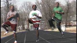 Track Speed And SPRINT TRAINING Skip Drills With RACER X