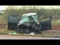 Three storm cashers killed in car crash in Texas