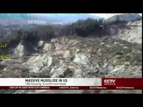 14 Dead, 176 Missing in Major U.S. Mudslide