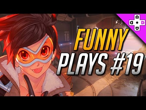 Funny Overwatch Plays # 19 - Is Violence Always the Solution? YES! | Overwatch