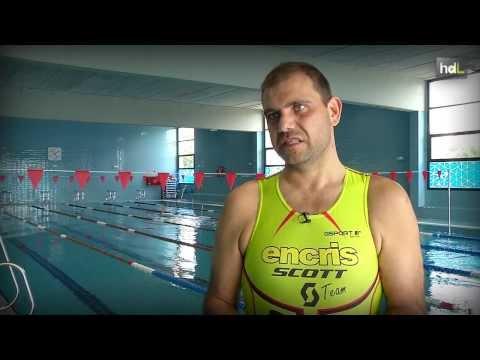 HDL Miguel González, 70 kilos menos para ser un 'ultraman'