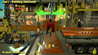 The Lego Movie Videogame: Level 1 Bricksburg Construction