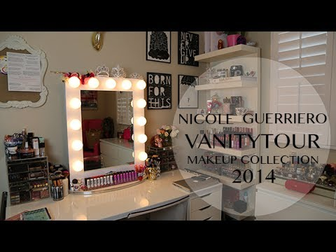 Vanity Tour Makeup Collection Nicole Guerriero Youtube