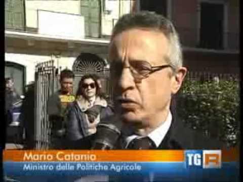 Intervista al TG3 Puglia in occasione dell'incontro con Coldiretti a Bari
