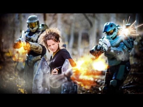 Halo Medley - Firefight - Lindsey Stirling and William Joseph | DEVINSUPERTRAMP