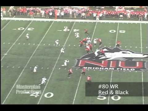 2011 NFL Draft Prospect Wide Receiver Blocking Highlights - NIU's Landon Cox