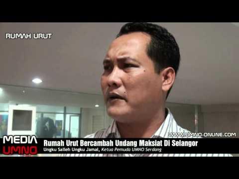 Rumah Urut Bercambah Undang Maksiat Di Selangor
