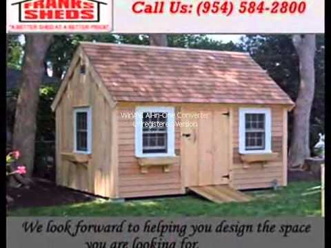 Outdoor Sheds Miami | (954) 584-2800