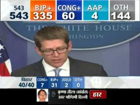 U.S. Senate Congratulate Narendra Modi on His Win in India