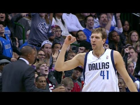 Dirk Nowitzki 24 Points Game Highlights - Clippers vs Mavericks (2014.01.03)