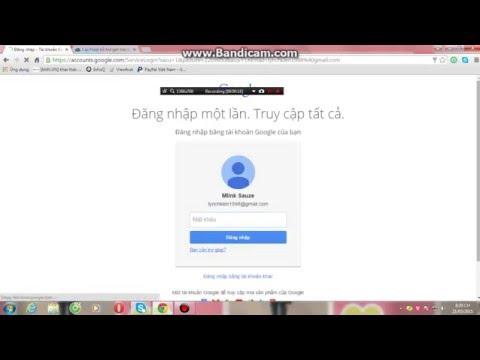 Lấy lại mật khẩu không cần SĐT hay GMail Google!