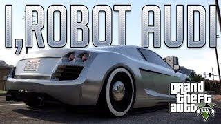 I,Robot Audi RSQ (Obey 9F) : GTA V Custom Car Build