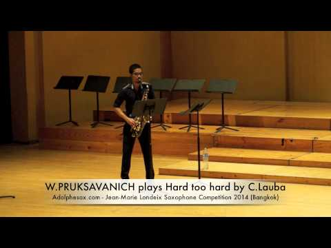W PRUKSAVANICH plays Hard too hard by C Lauba