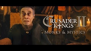 Crusader Kings II - Monks and Mystics Bejelentés Trailer