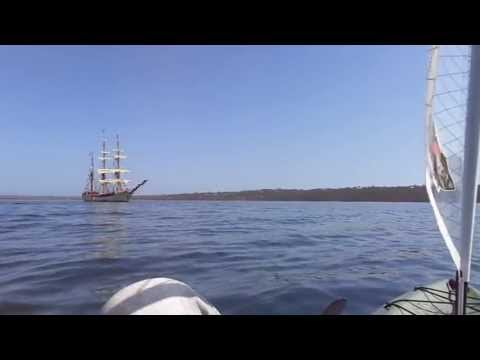 MAH04493  Tall Ships at American River Kangaroo Island S.A. 2/9/2013 Vid 3 of 3.