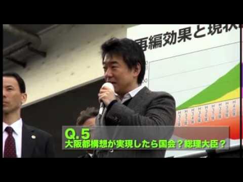 Q5.大阪都構想が実現したら国会?総理大臣?