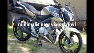 Body Kit Honda CB150R & Yamaha New Vixion Lightning (NVL