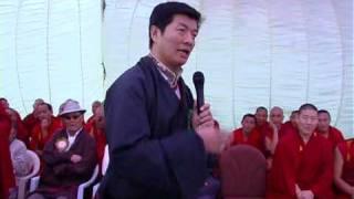 Lithang Tenshug Speech Of Dr Lobsang Senge.