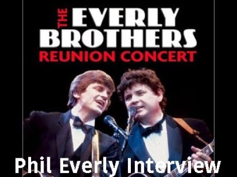 Phil Everly: An hour of his time from 1984! INTERVIEW