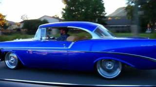 1956 Chevy Bel Air with 2008 Z06 Engine HIGH DEFINITION