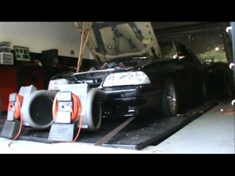 Cody's GT42 Turbo Mustang Dyno Session