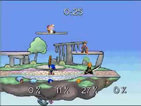 play super smash flash 2