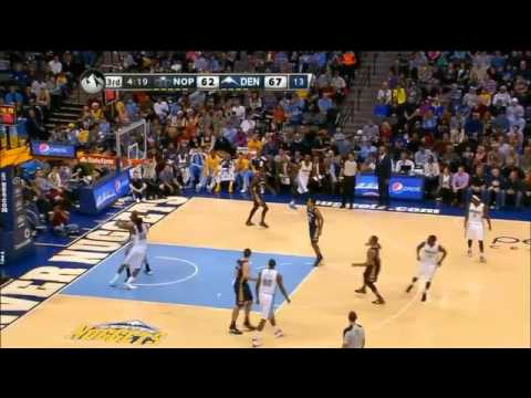 NBA CIRCLE - New Orleans Pelicans Vs Denver Nuggets Highlights 15 Dec. 2013 www.nbacircle.com