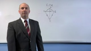 Do Both The Diagonals On A Kite Bisect Angles? : Math Made