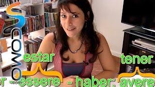 Tutorial de italiano - Los verbos ser y haber - (1/2)