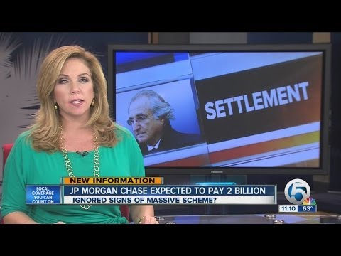 JP Morgan Chase expected to pay 2 billion