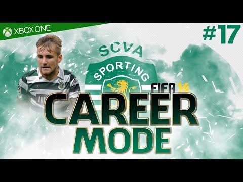 FIFA 14 : SPORTING LISBON Career Mode - #17 Luke Shaw Signs for Sporting! (Xbox One 1080p HD)