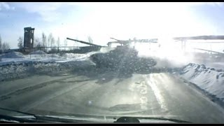 Russian road - Expect the Unexpected