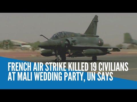 French air strike killed 19 civilians at Mali wedding party, UN says