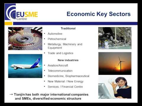 EU SME Centre Webinar: Regional Cities in China - Opportunities for EU SMEs in Tianjin