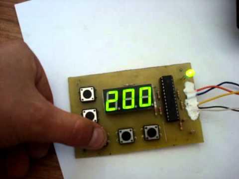 Цифровая паяльная станция своими руками atmega8