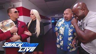 Gabriel Iglesias and Apollo Crews have a laugh at The Miz's expense: SmackDown LIVE, Dec. 13, 2016