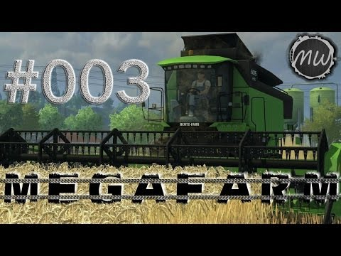 LS 2013 MegaFarm Multiplayer #003 - Der verstaubte Ladewagen  [German] MR Hagenstedt Modified