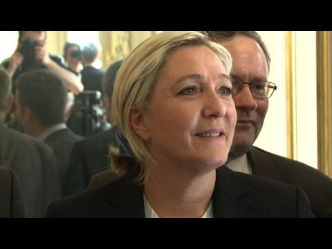 Poll shows French far-right in the lead for EU elections
