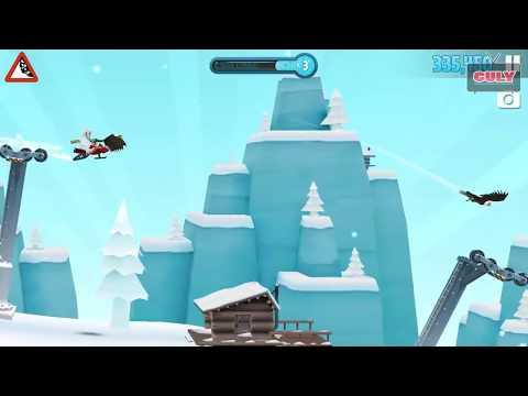Trò chơi trượt tuyết nhào lộn vòng cực vui Ski safari 2 - cu lỳ chơi game #51