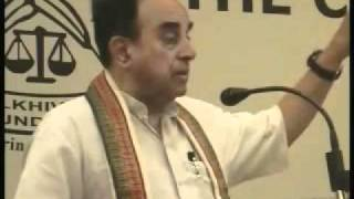 Subramanian Swamy - Challenges Facing The Indian Economy (full)