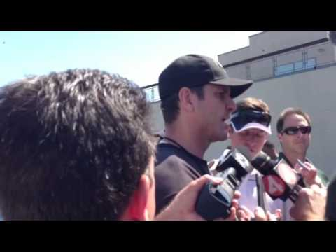 San Francisco 49ers Jim Harbaugh Expects Vernon Davis at Tr