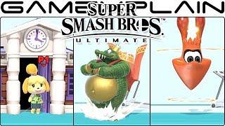 Super Smash Bros. Ultimate - All Battle Entrances & Character Introductions