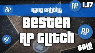 GTA 5 Online BESTER UNLIMITED RP GLITCH 5000 RP PRO