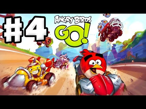Angry Birds Go! Gameplay Walkthrough Part 4 - Bomb! Rocky Road (iOS, Android)