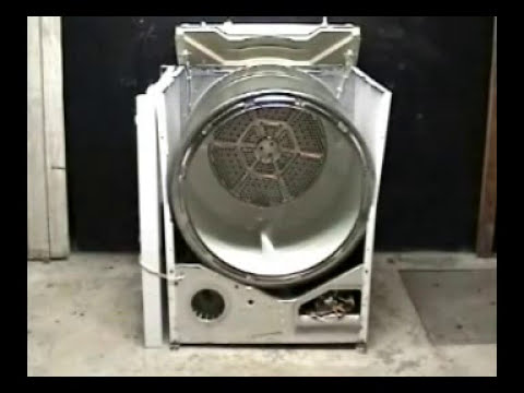 Taking Apart Ge Electric Dryer Youtube