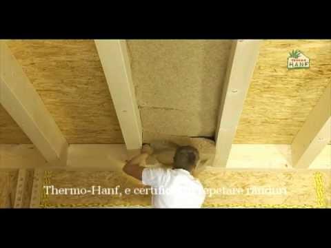 VIDEO OFICIAL: Izolarea casei cu Thermo-Hanf