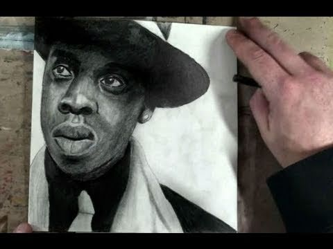 How to Draw Jay-Z Step by Step Portrait