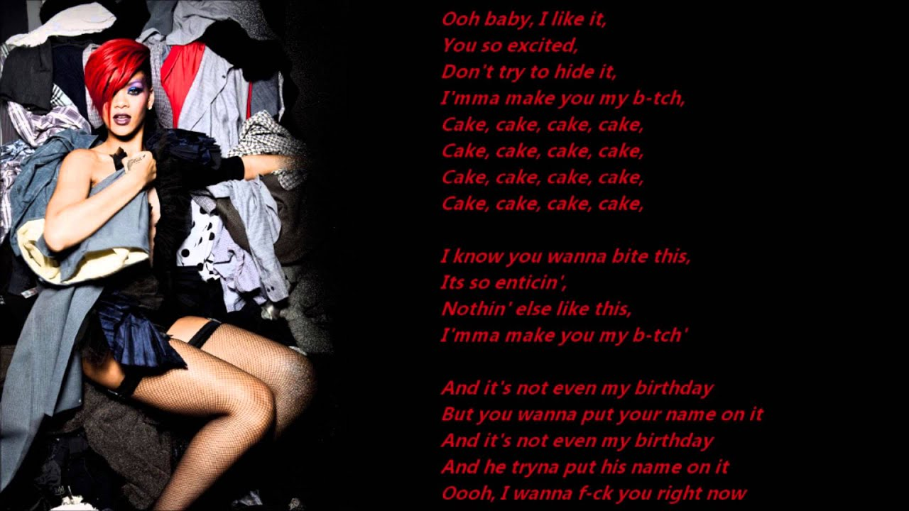 birthday cakes lyrics