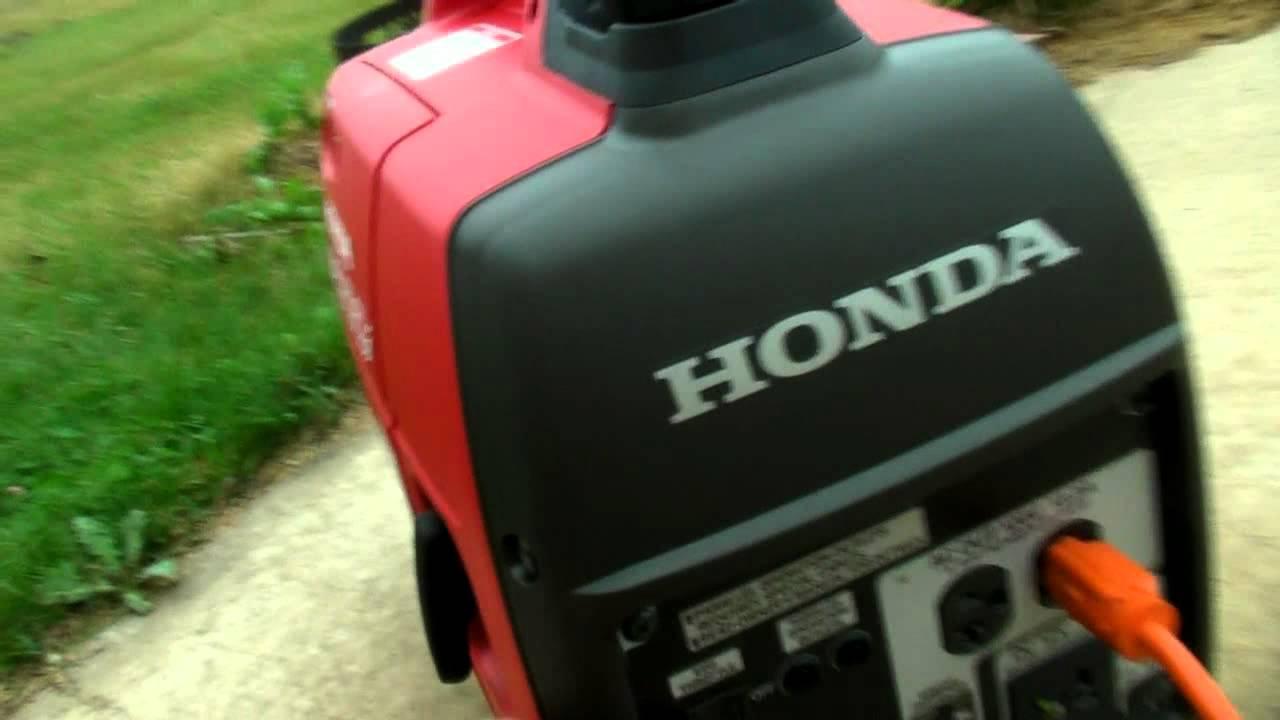 Honda Eu2000i Gas Generator Vs Harbor Freight Tools